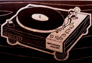 Image of Marantz 6300 turntable shirt