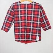 Image of AW16/17 <> Tshirt manches longues à carreaux écossais bébé garçon Dzianinowe