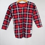 Image of AW16/17 <> Tshirt manches longues à carreaux écossais 2 bébé garçon Dzianinowe