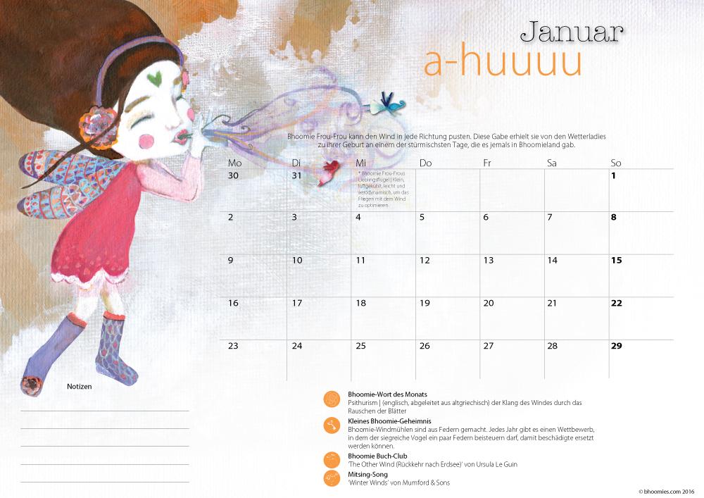 Image of Kalender 2017