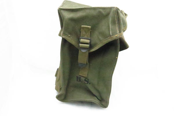 Image of WW2 US General Purpose Ammo Bag - OD7 - 1945