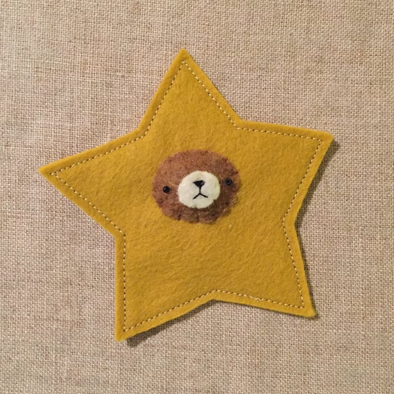 Image of incognito bear ornament // stars