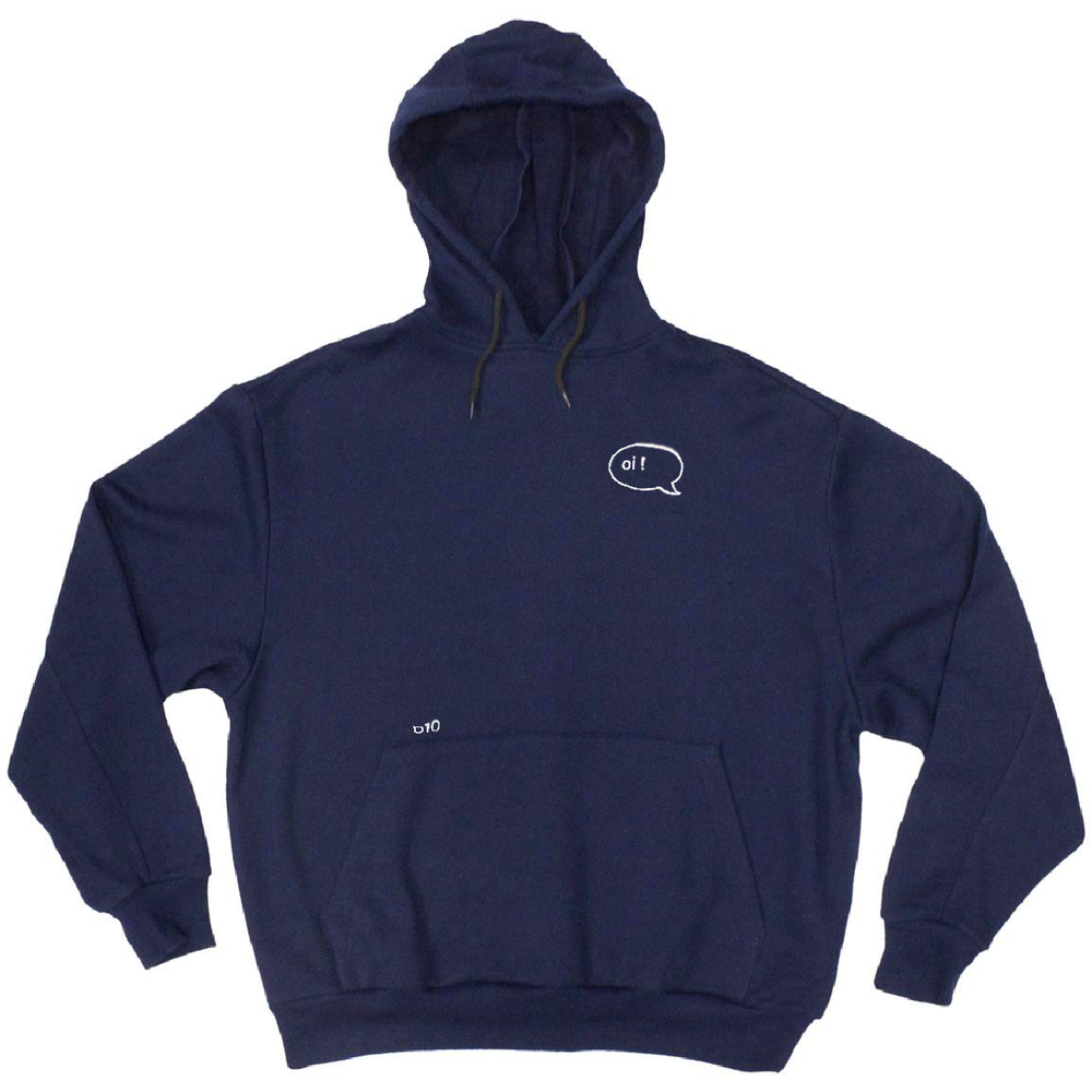 Image of oi ! hoodie