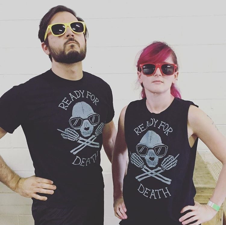 Image of Ready for Death tee