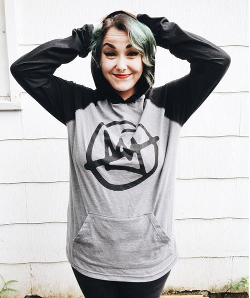 Image of Doomtree No Kings Raglan Hoodie