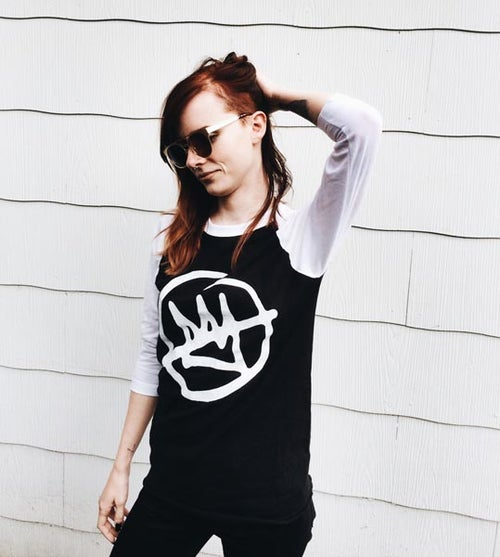 "Image of DOOMTREE ""NO KINGS"" RAGLAN (ALT)"