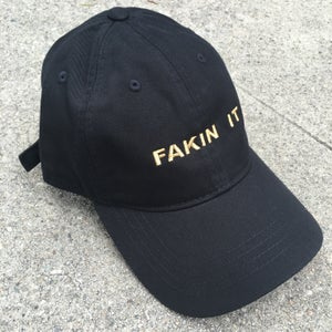 Image of Fakin It Hat - Black/Gold - Limited Print