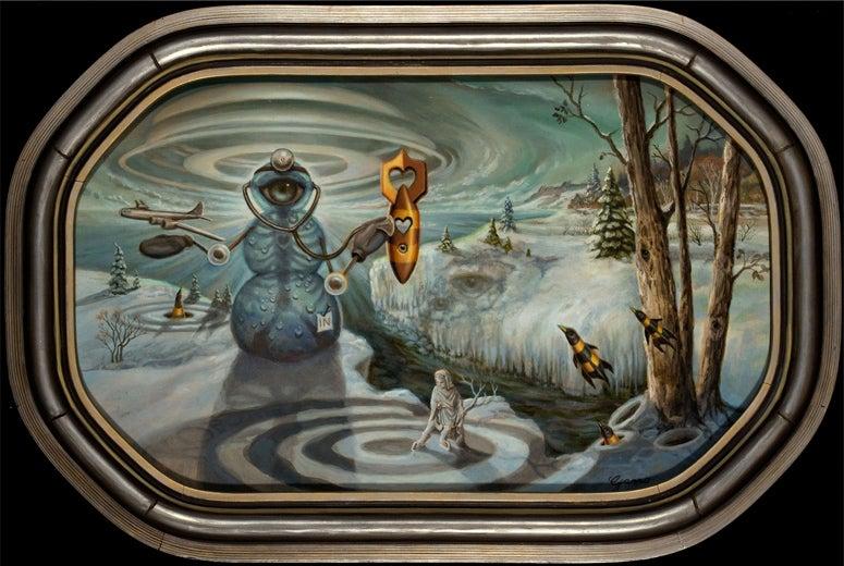 Image of Mark Garro 'Strange Love Doctor' original art