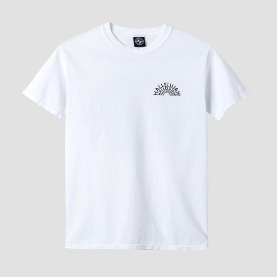 Image of Powers Hallelujah T-Shirt White