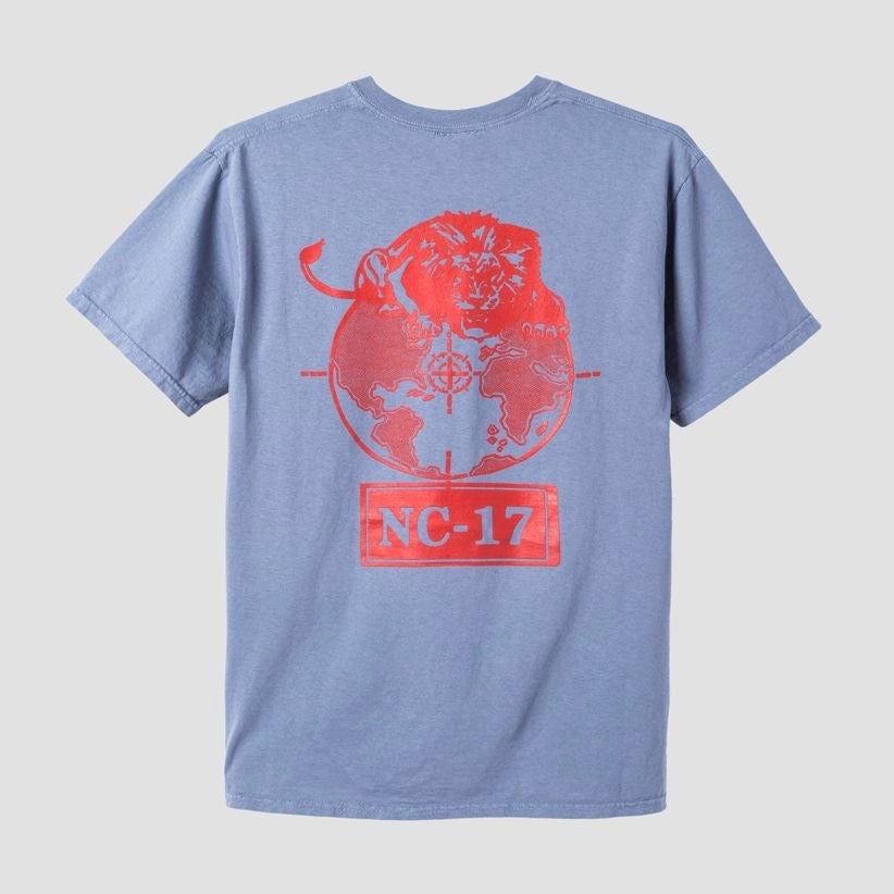 Image of Powers NC-17 T-Shirt Blue