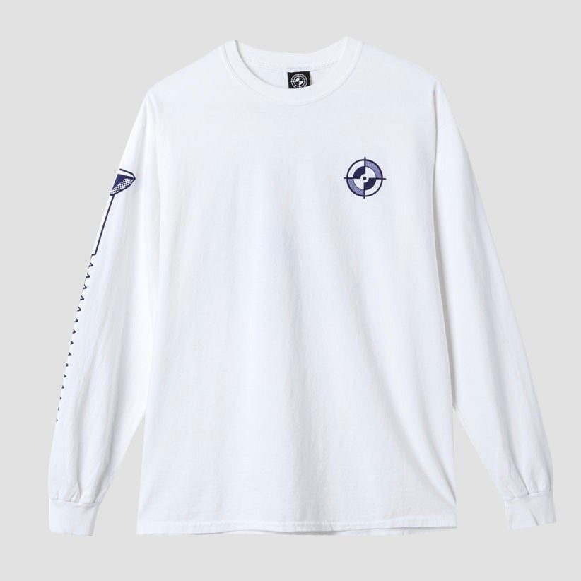 Image of Powers Registration L/S T-Shirt White