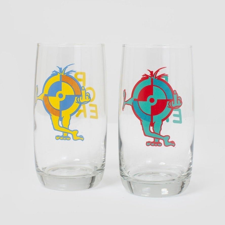 Image of Powers F.U Target Drinking Glasses