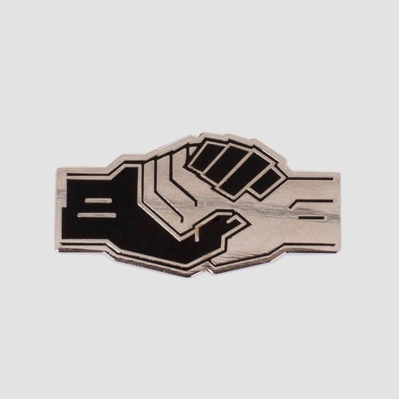 Image of Powers Handshake Pin