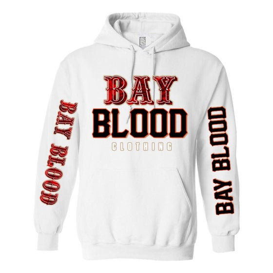 "Image of ""Frisco"" Bay Blood Hoodie (white)"