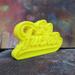 Image of LeFucker Tag [Gloss Yellow]