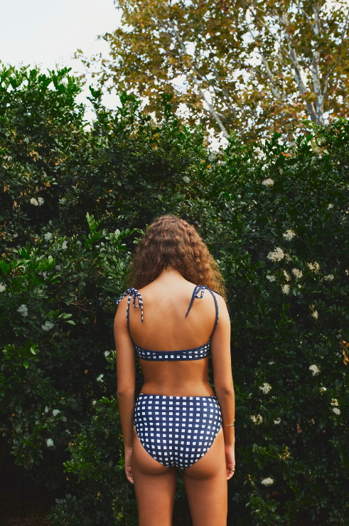 Image of GINGHAM ONEPIECE