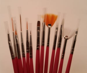 Image of DOTTING TOOLS AND BRUSHES