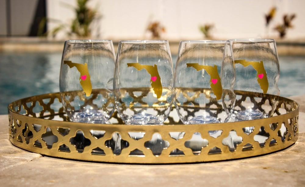 Image of Set of 4 Tampa Bay Wine Govinos