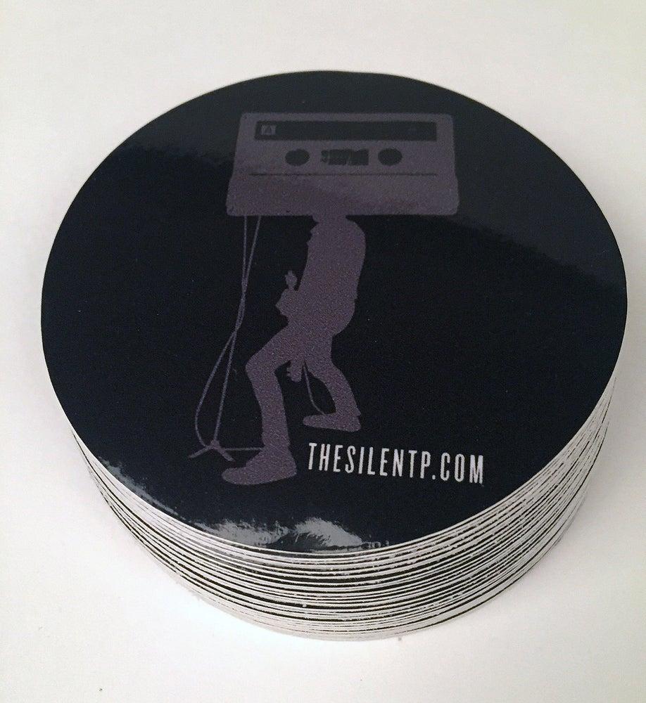 Image of Mr. Cassette Tape Head vinyl sticker
