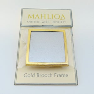 Image of Gold Brooch Frame