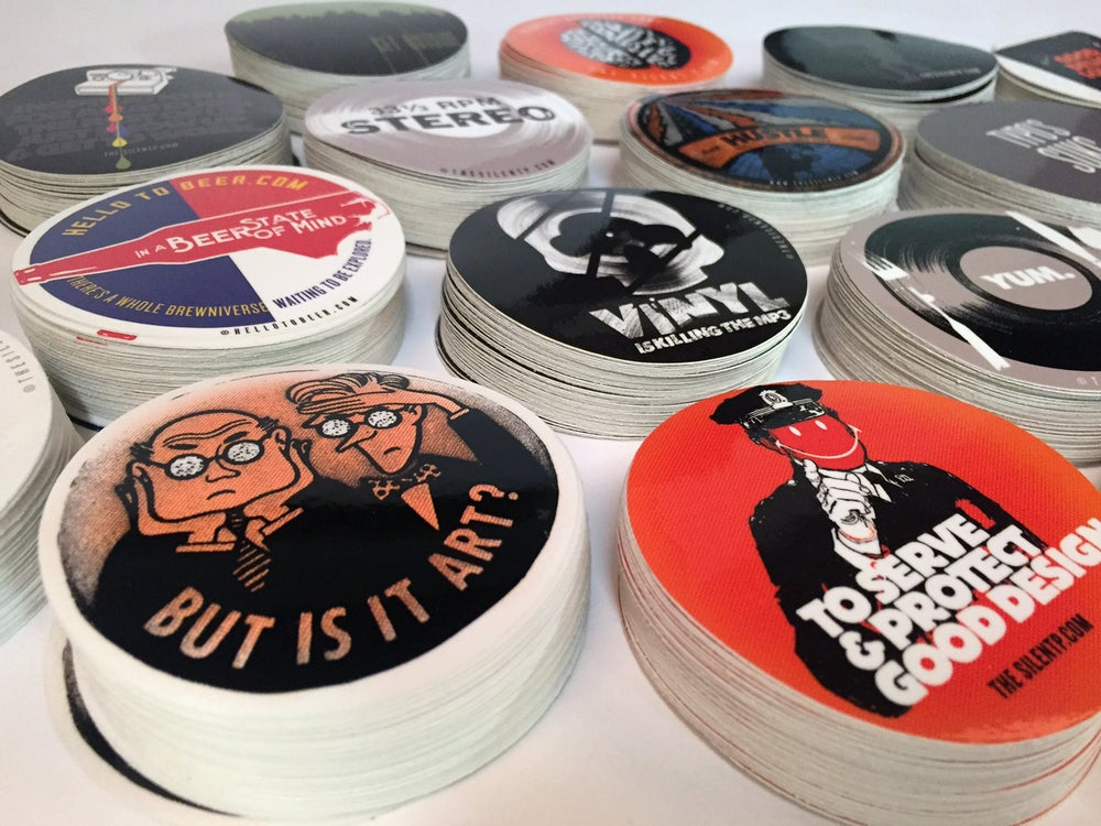 Image of **STICKER EXTRAVAGANZA** - Vinyl sticker SPECIAL!