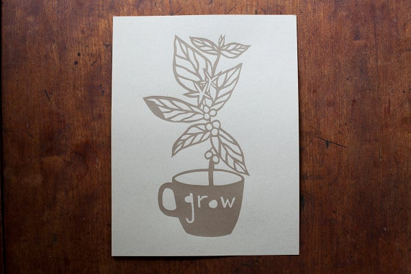 "Image of ""Grow"" Print"