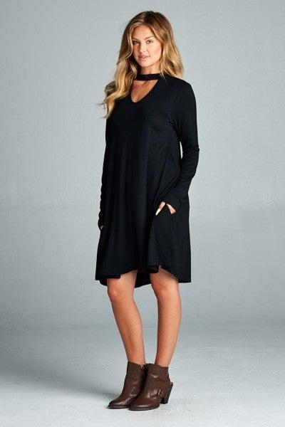 Image of Black Dress