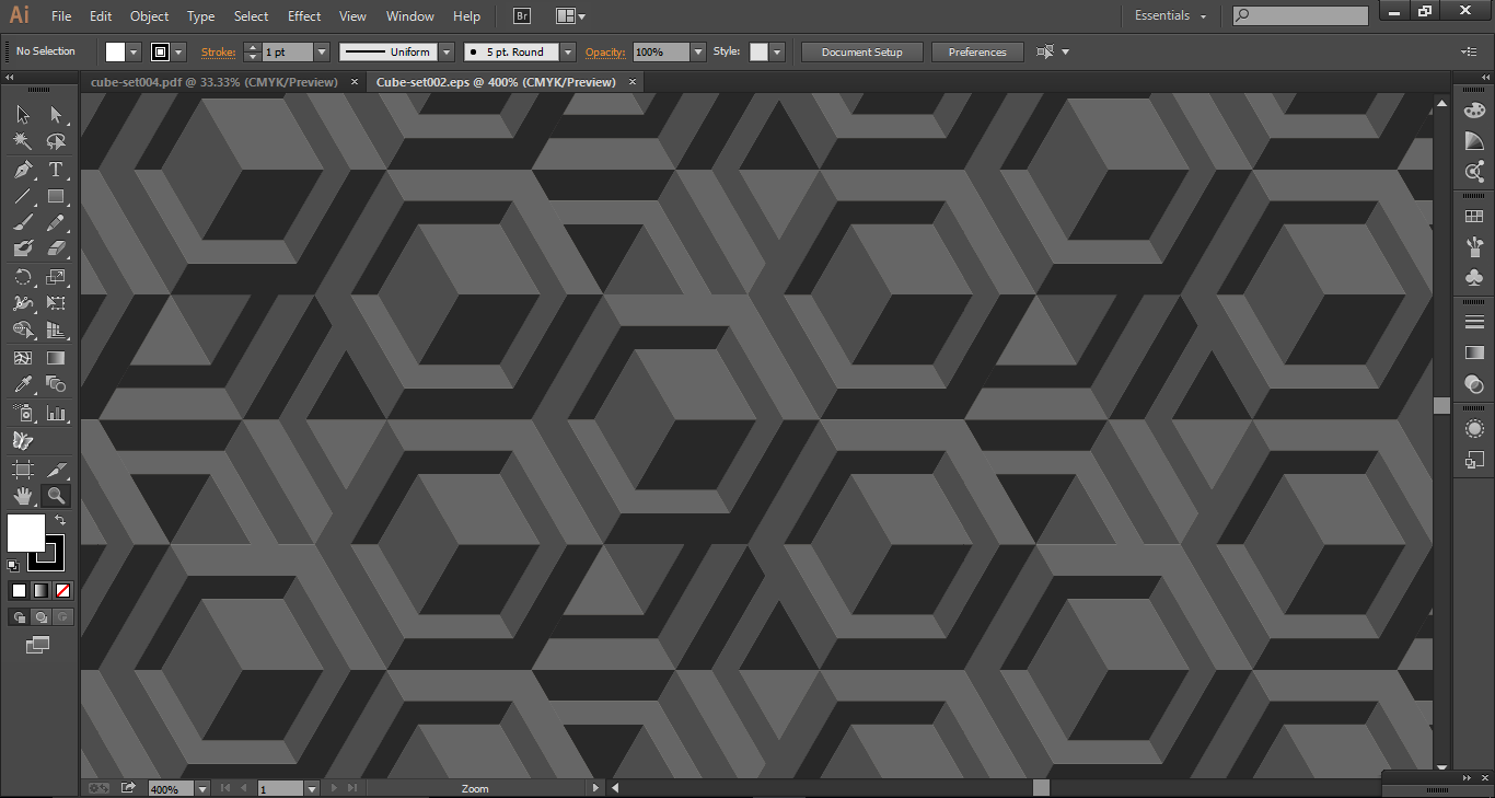 Image of GEOMETRIC VECTOR PATTERN 002