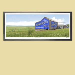 Image of SALE! Maitland Root Pills panoramic print.