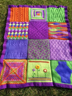 Image of Block of the Month Blanket