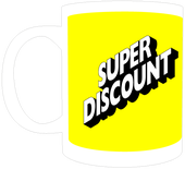 Image of Mug | Super Discount | Yellow