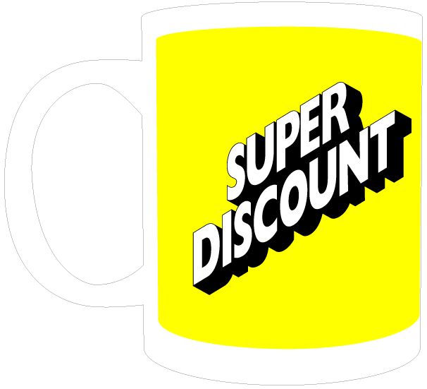 Image of Mug | Super Discount | Yellow