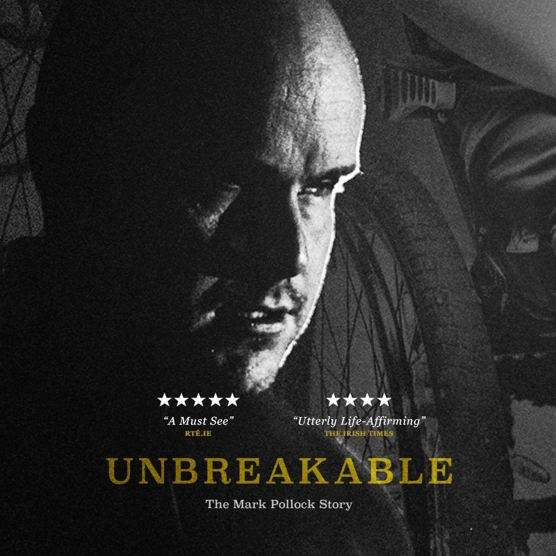 Image of Unbreakable: The Mark Pollock Story DVD