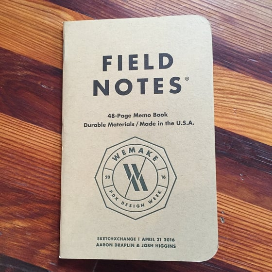 Image of Limited Edition Fieldnotes