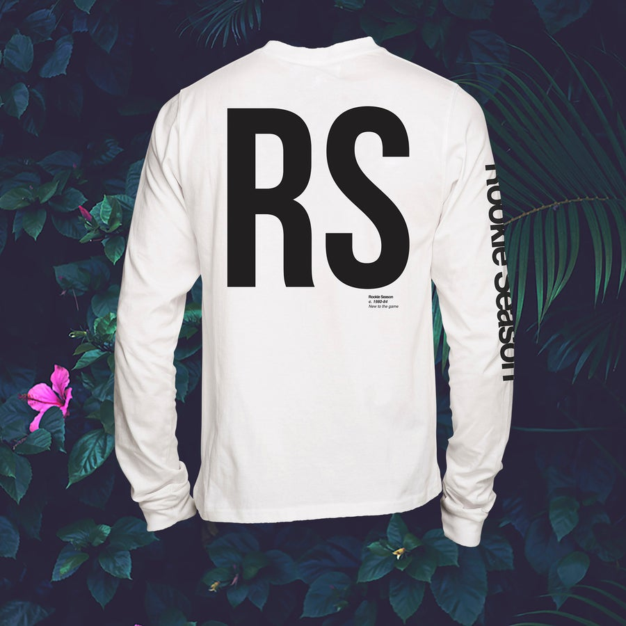 Image of L/S White Tee