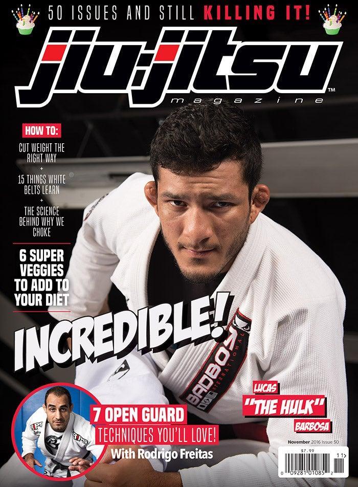 Jiujitsumag Issue 50 November 2016
