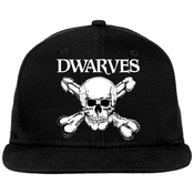 Image of The Dwarves New Era Snapback Baseball Cap - Skull & Cross Boners Hat