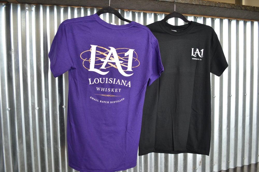 Image of LA1 Whiskey Short Sleeve T-Shirt