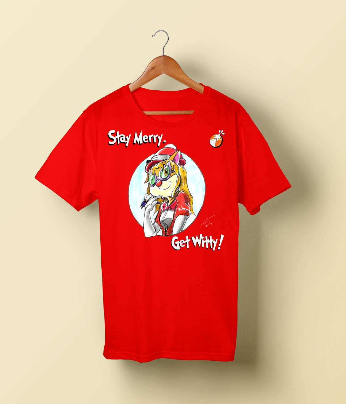 Image of SolForce Christmas T-Shirt: Stay Merry. Get Witty!