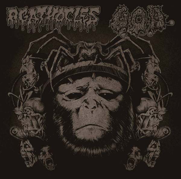 Image of Agathocles / G.O.D. Split CD - OUT NOW!