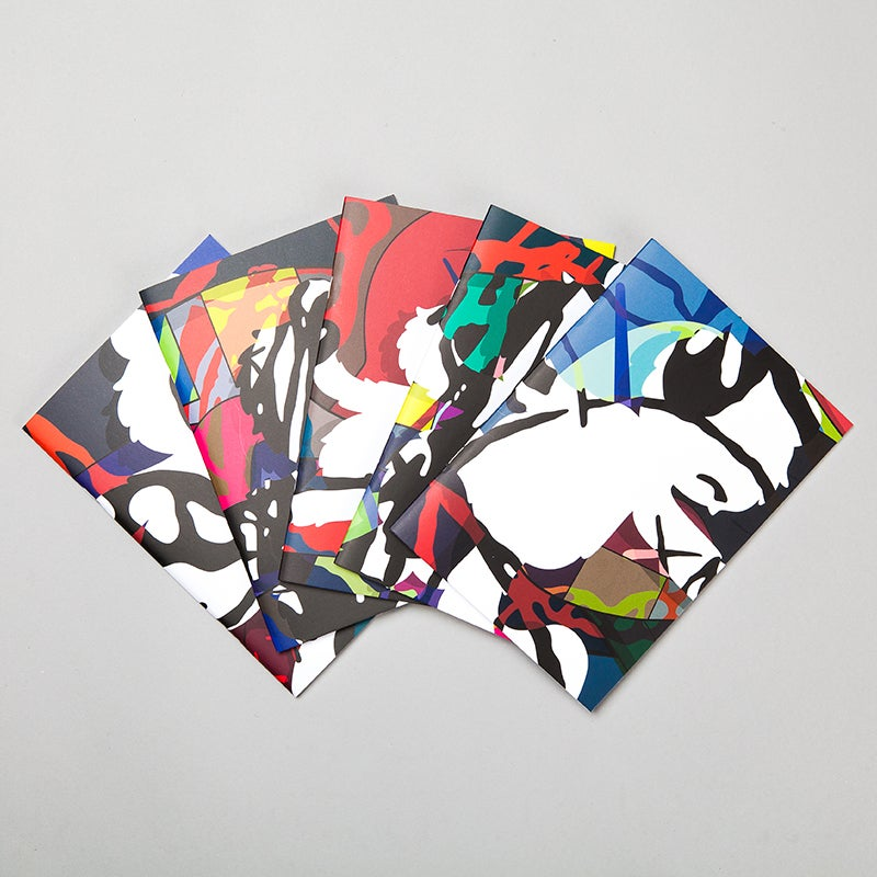 Image of KAWS - Notebooks set of 5
