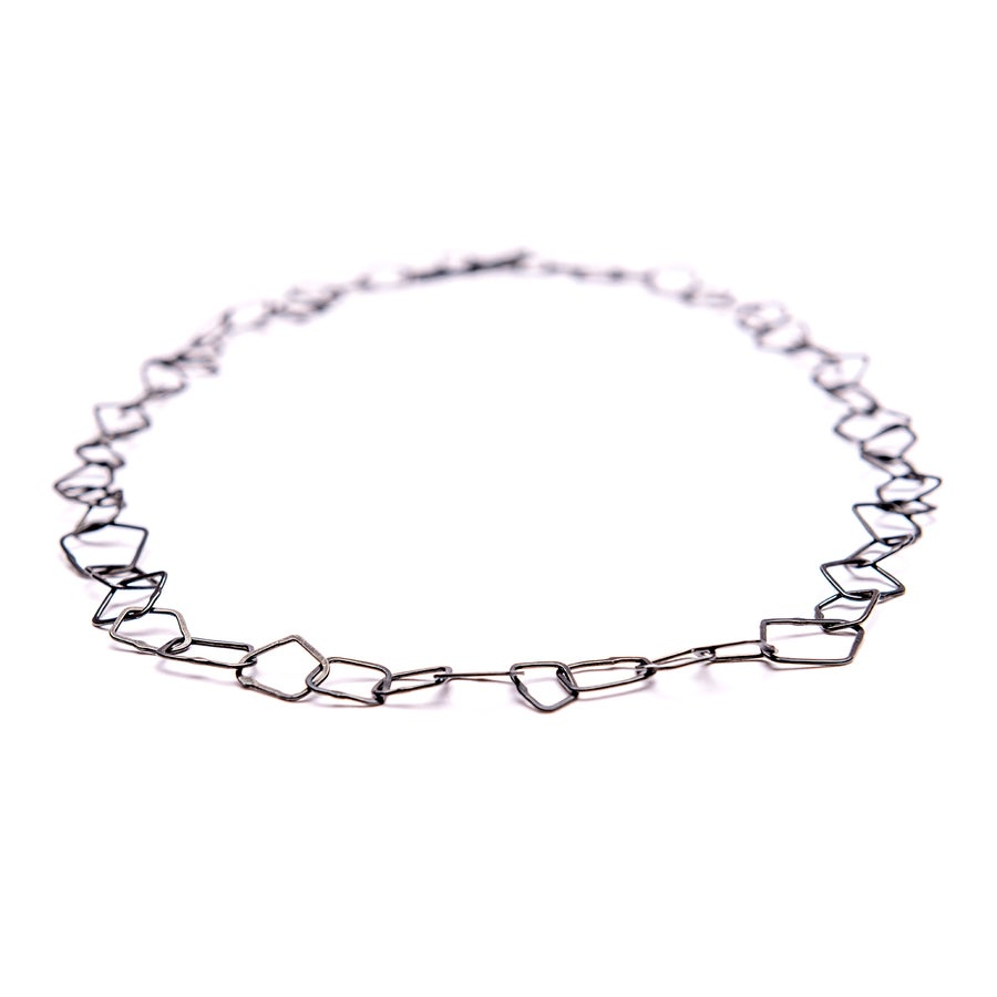 Image of Indian Summer Necklace  Sterling Silver Oxidised