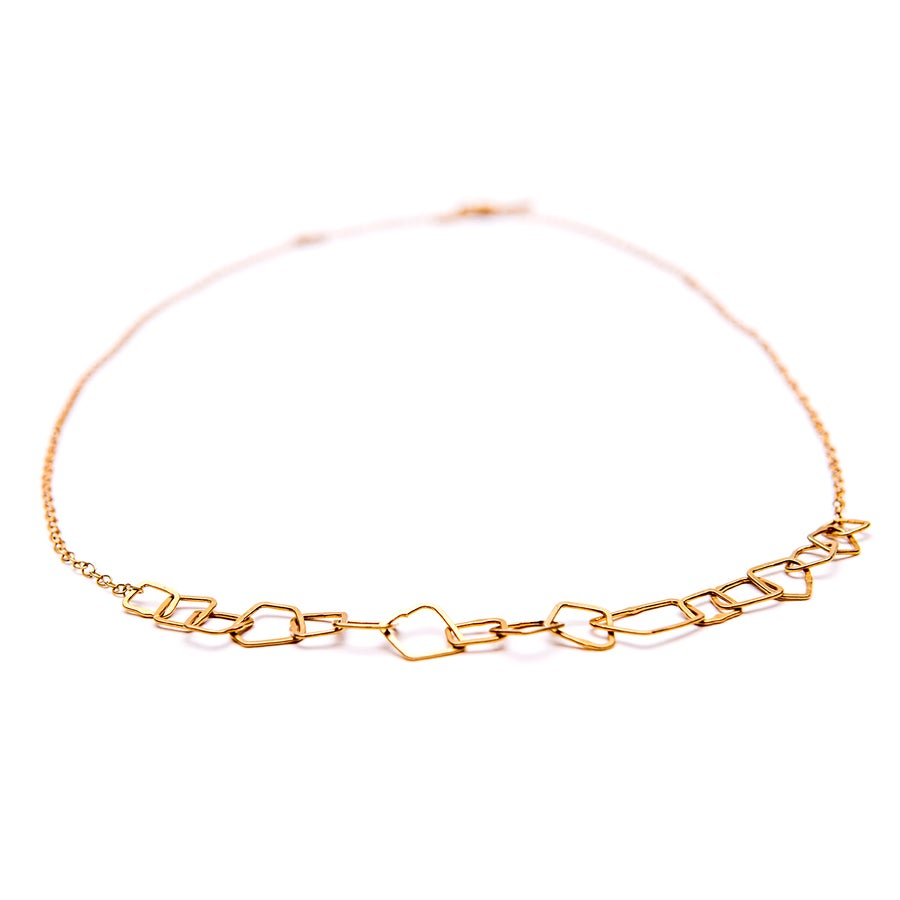 Image of Indian Summer Fine Choker Yellow Gold Vermeil