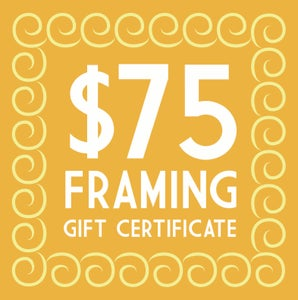 Image of $75 Trinity Framing Gift Certificate