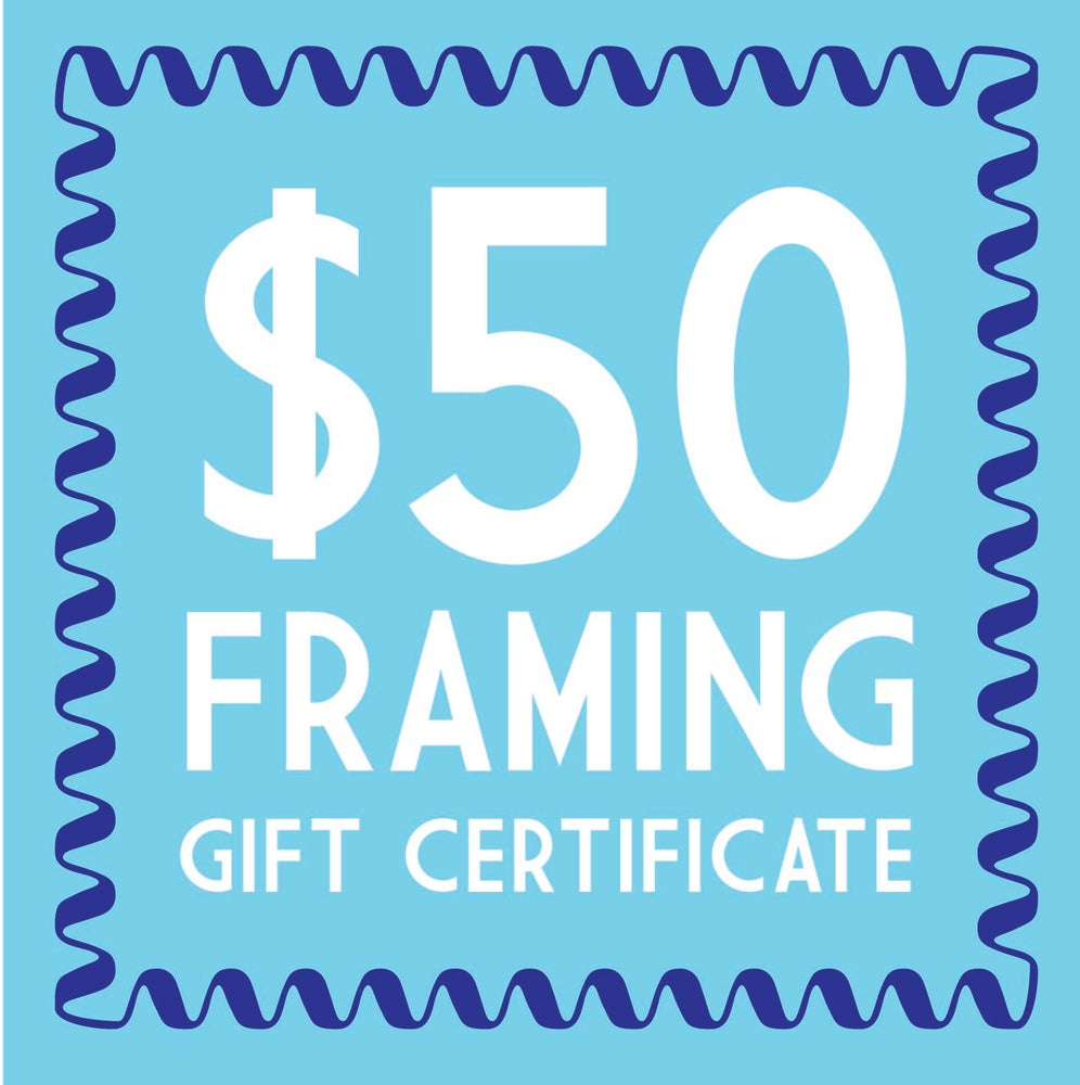 Image of $50 Trinity Framing Gift Certificate