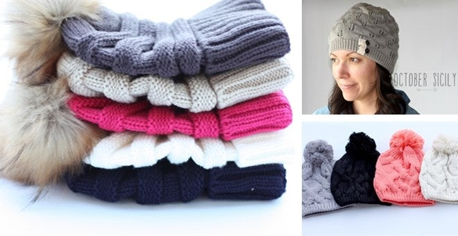 Image of Pretty Winter Hats | 2 styles