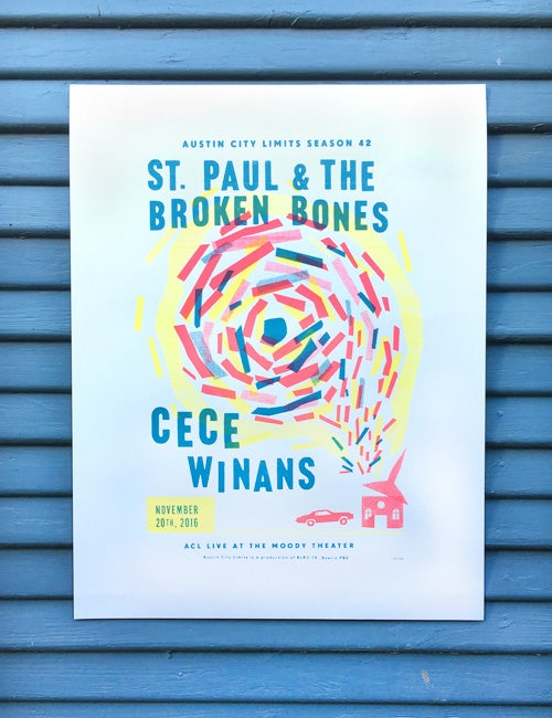 Image of St. Paul/CeCe Winans - ACL Live Poster