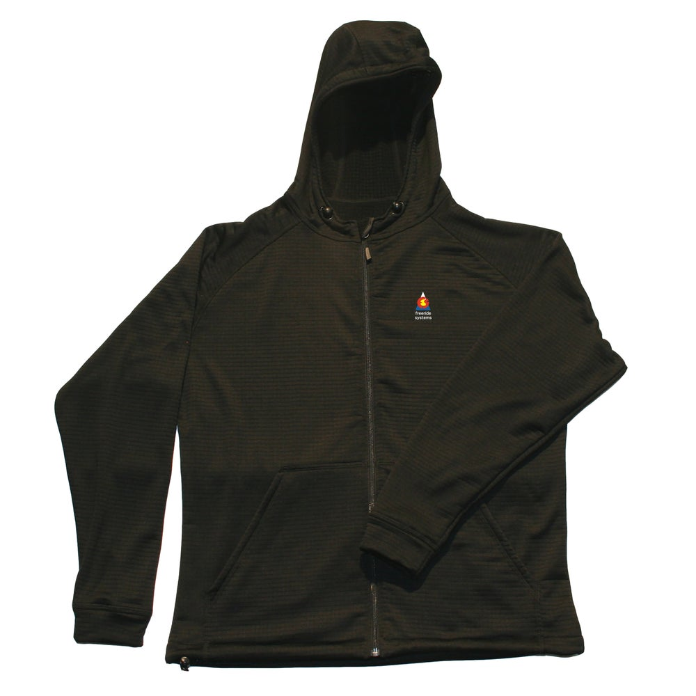 Image of New Bross 2.0 Polartec R1 Midlayer Fleece Hoodie Men's & Women's