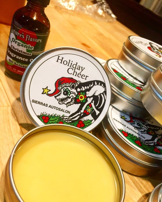 Image of Holiday Cheer Organic Car Wax 4oz