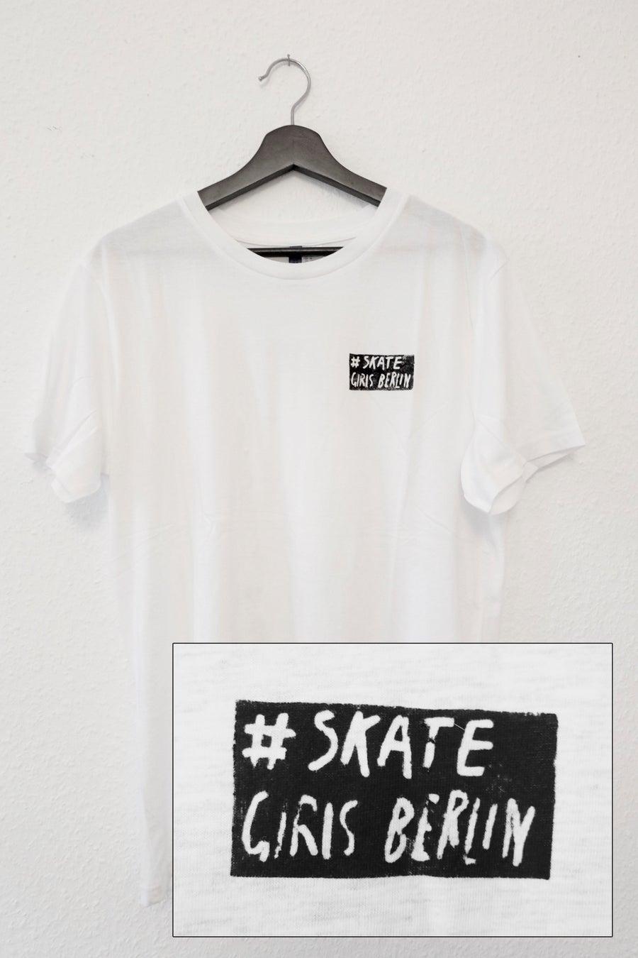 Image of Skate Girls Berlin T-Shirt (white)